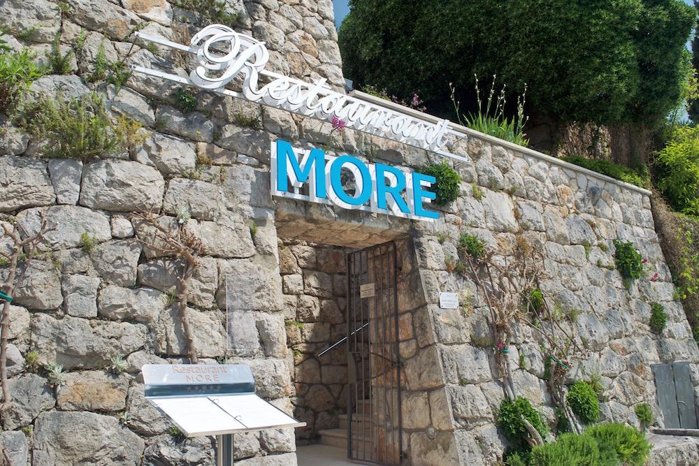 Front of Restaurant   Hotel More Dubrovnik