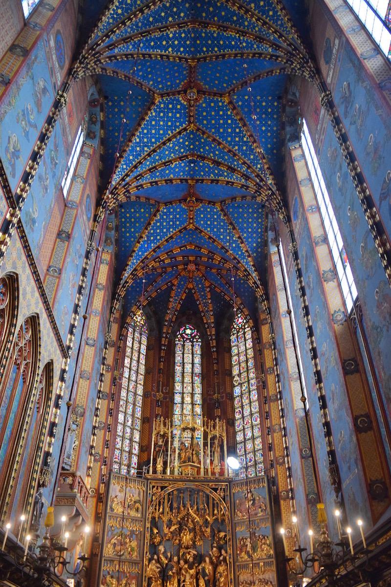 St Marys Church Krakow Poland