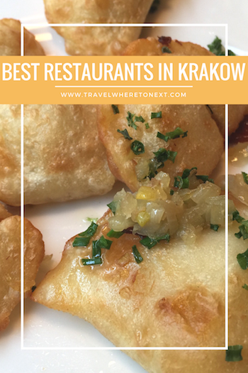Krakow has tons of amazing restaurants but here is a great list for the best restaurants you can't miss while in Krakow Poland.  Tessa Juliette www.travelwheretonext.com