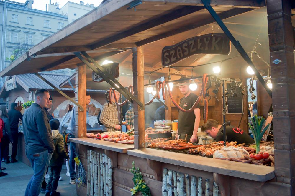 Don't miss Krakow Poland's amazing street food.  Tessa Juliette www.travelwheretonext.com