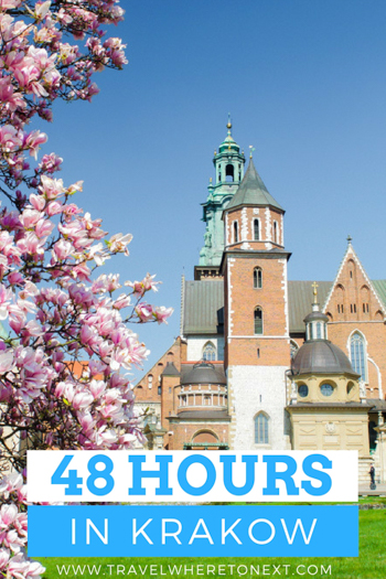 48 hours to see the best sites in Krakow Poland.  Tessa Juliette www.travelwheretonext.com