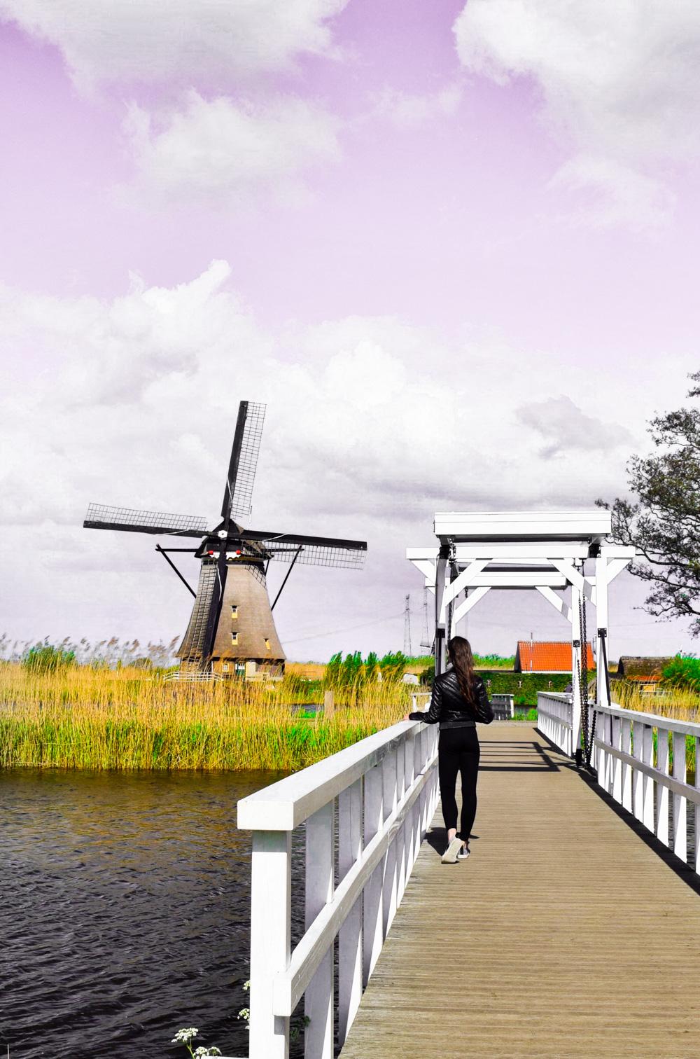 Amsterdam to Kinderdijk