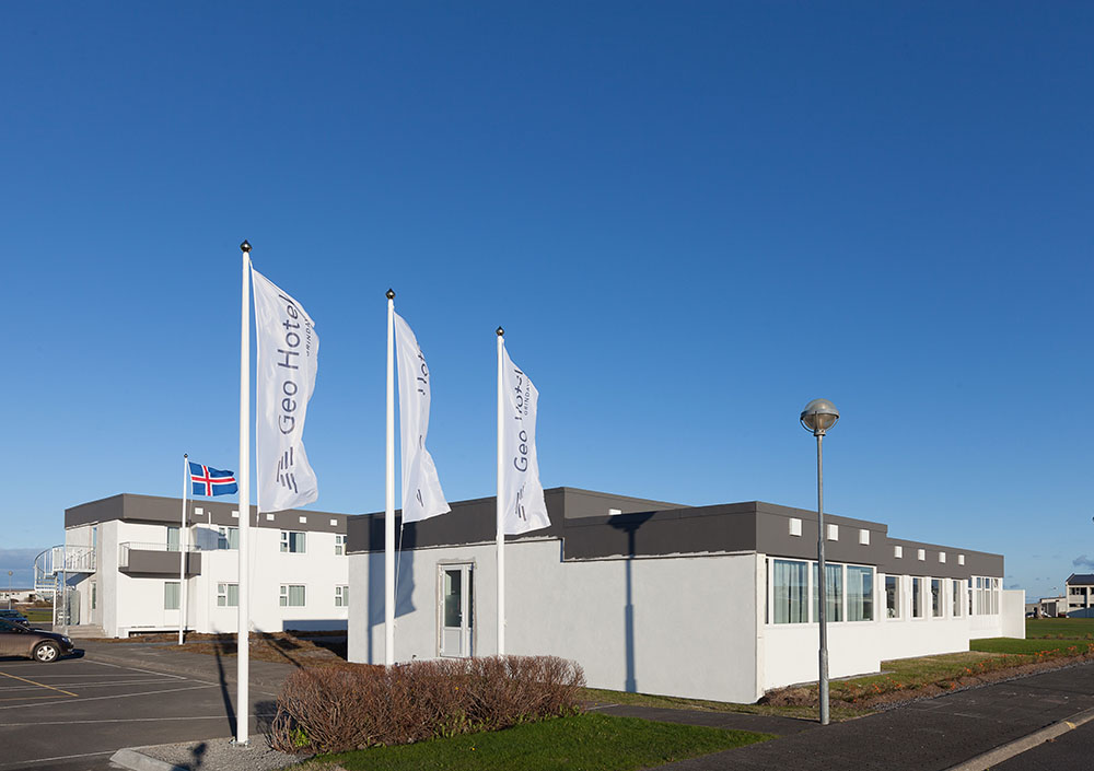 Outside of Geo Hotel Grindavík