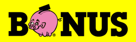 Look for this logo - this is the budget grocer in Iceland