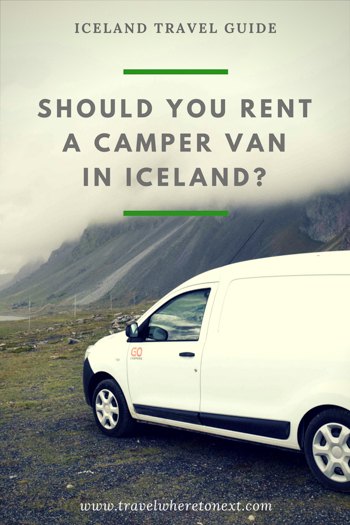 Renting a camper van while in Iceland requires making a lot of decisions. Read on to find out all the pros and cons to driving and living in a camper van.