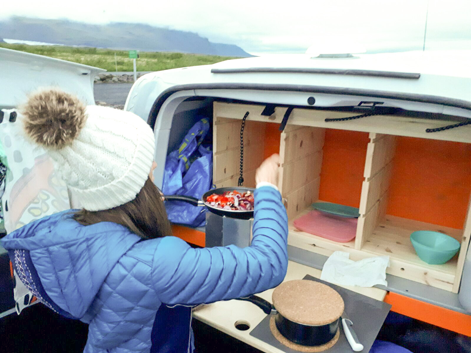 There are so many ways to save money while in Iceland, renting a camper van will definitely help.