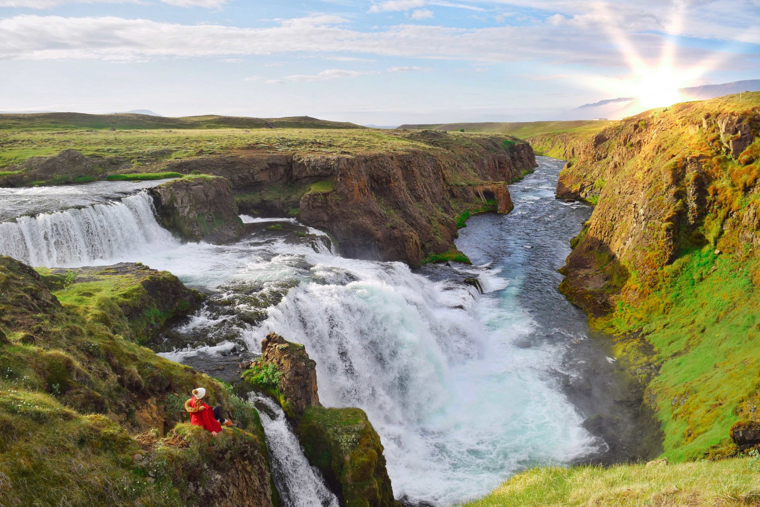 A serious gorgeous spot in Iceland.