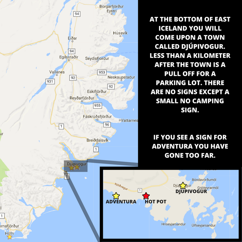 A map to help you navigate Iceland.