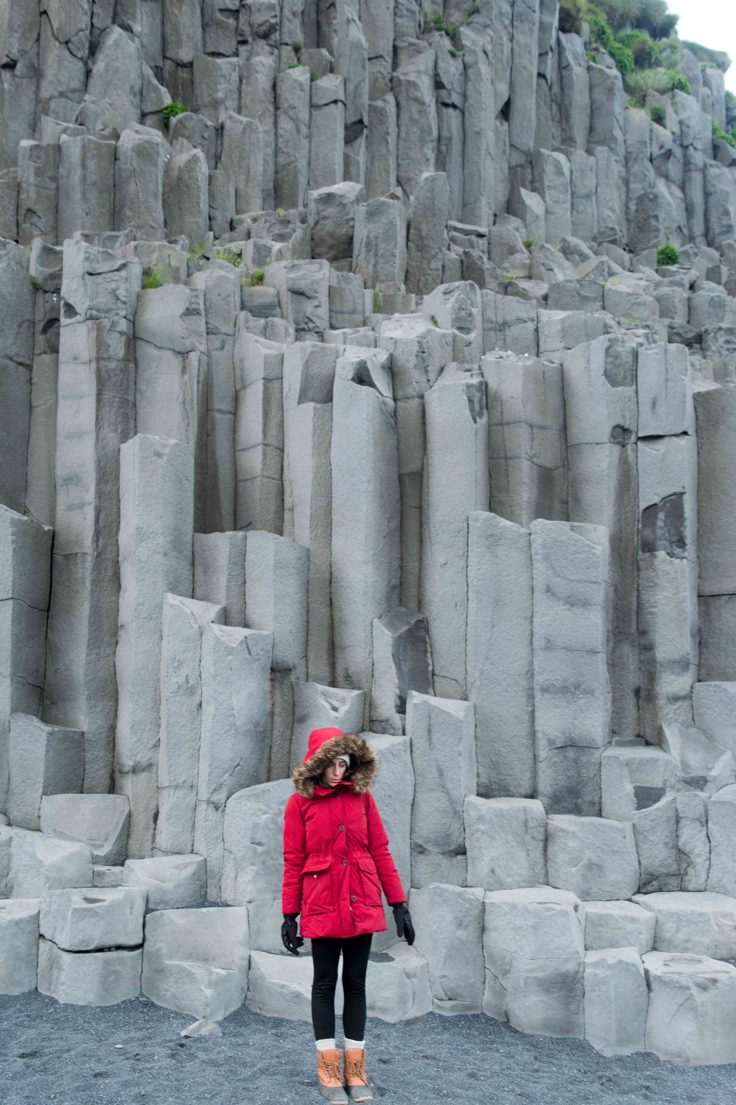 Rock formation Iceland