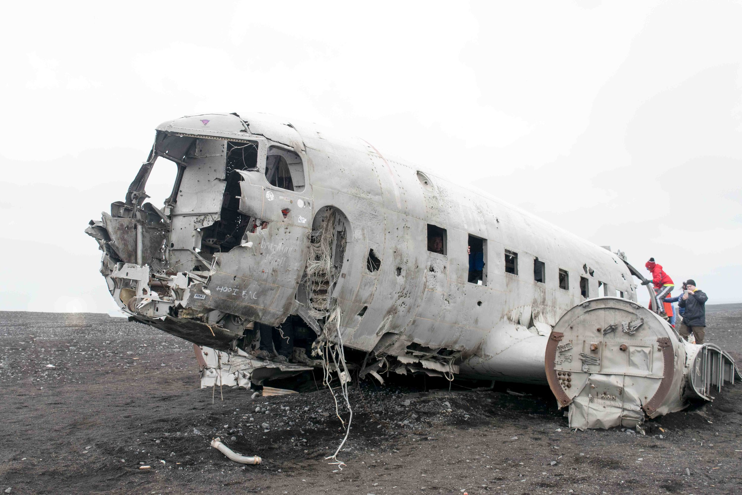 Don't miss the Solheimasandur Plane Wreck while in Iceland