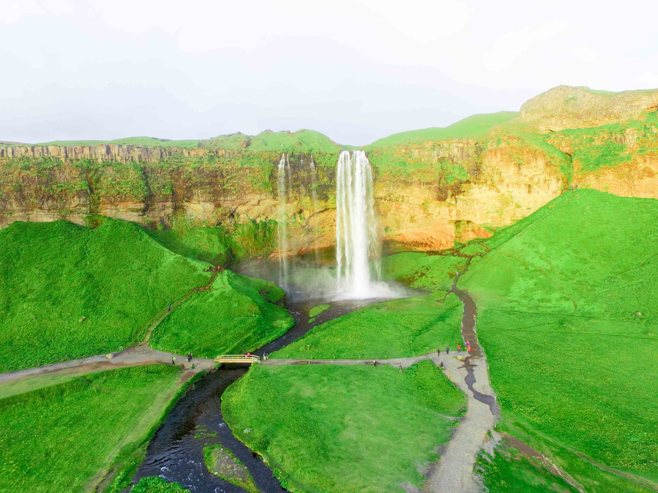 The best waterfalls to see in Iceland.