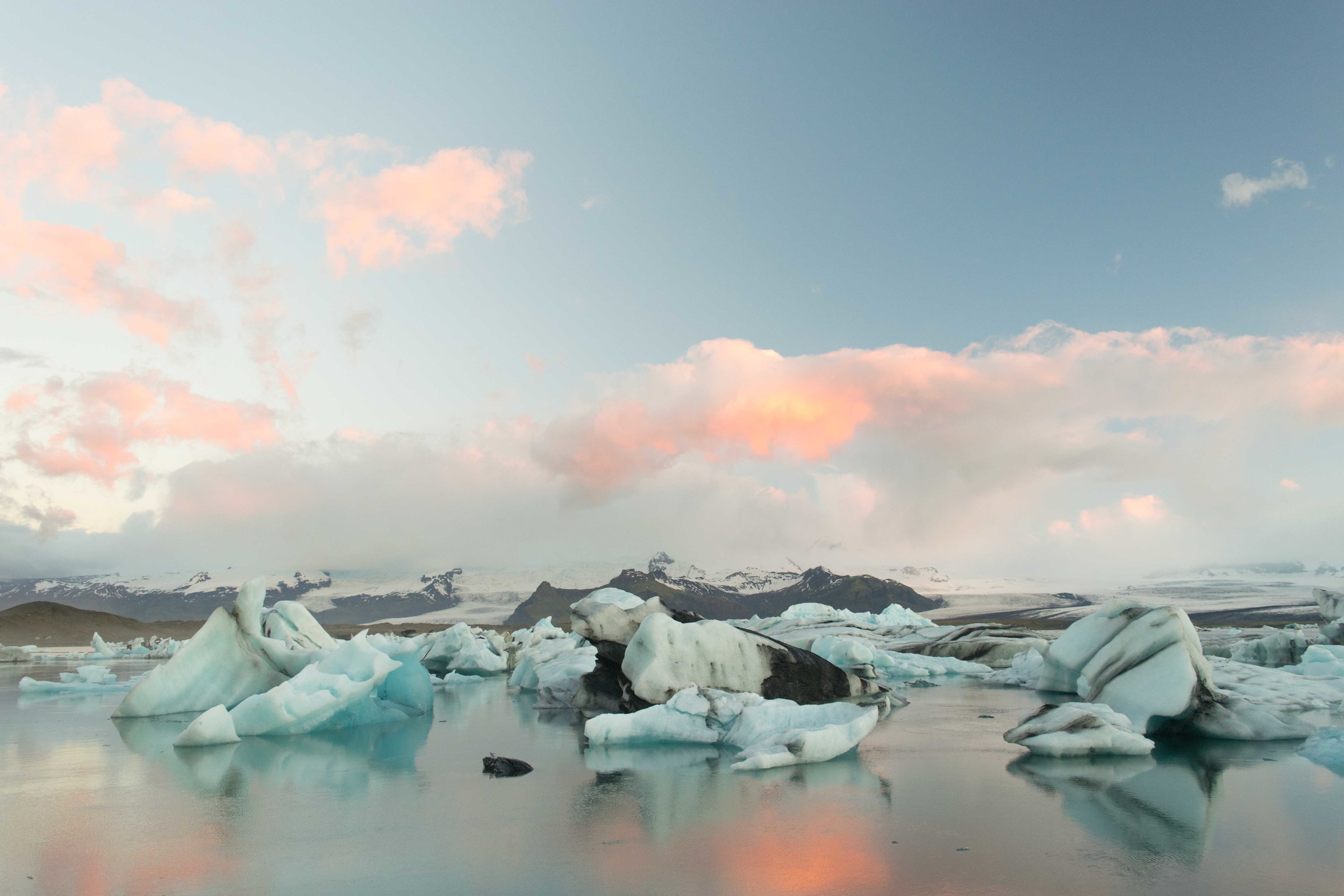 Jökulsárlón Lagoon is one of the best places to visit in Iceland.