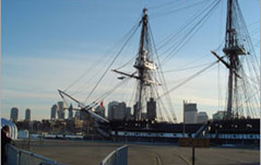 Launched in Boston in 1797, the oldest commissioned warship afloat earned her nickname