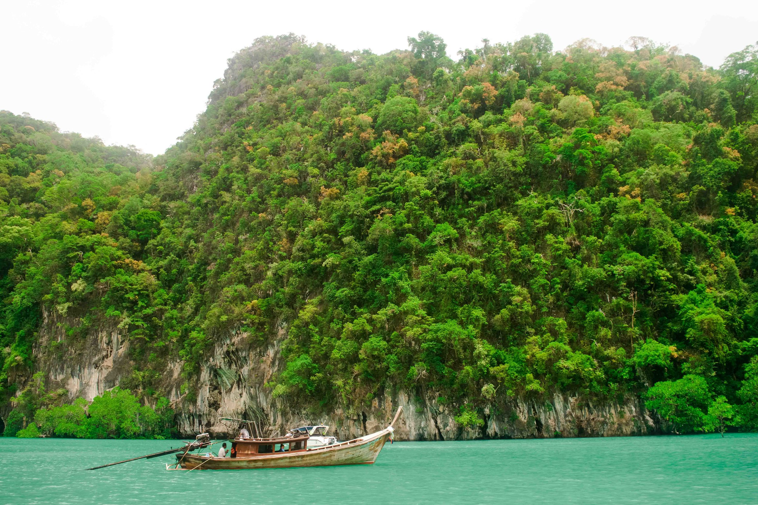 Hong Island near Krabi Thailand. One of the most beautiful islands in all of Thailand.