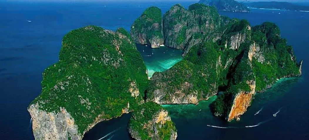The island made famous by the movie The Beach with Leonardo DiCaprio. You have to visit Maya Bay when in Thailand.