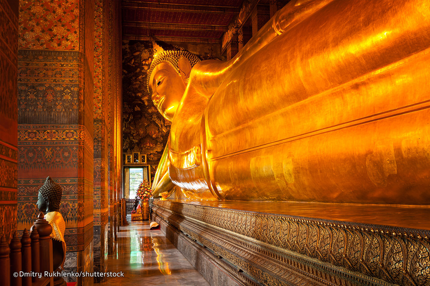 Wat Pho is a one of the top things to do while in Bangkok Thailand