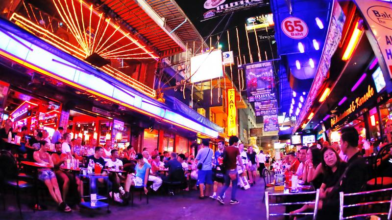 Drinking in bangkok is a top thing to do.