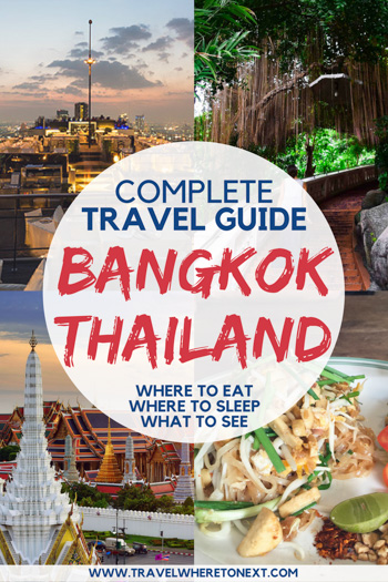 Have questions on traveling to Bangkok Thailand? Not sure where to stay in Bangkok. Or things to do in Bangkok? How about just how to get to Bangkok. This guide will help you plan your trip to Bangkok so you don't miss a thing! PIN NOW-READ LATER