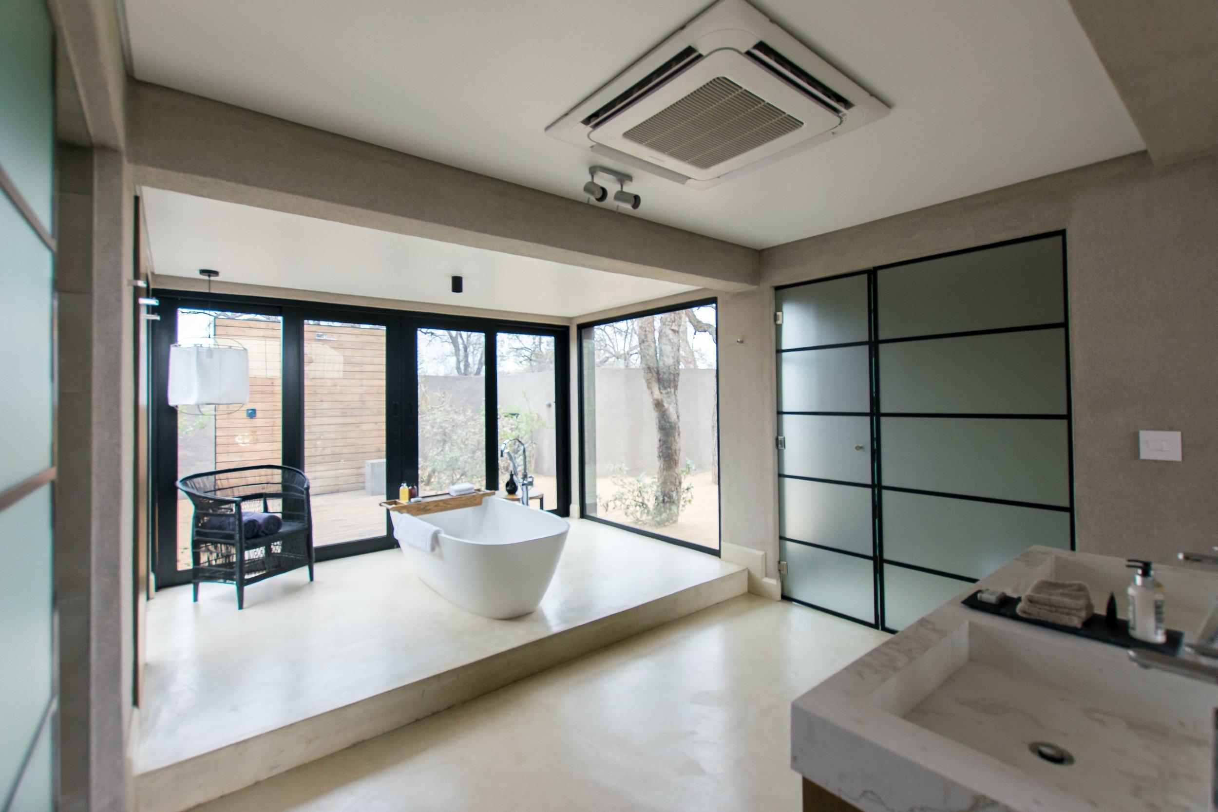 Bathroom at Lion Sands Ivory Lodge