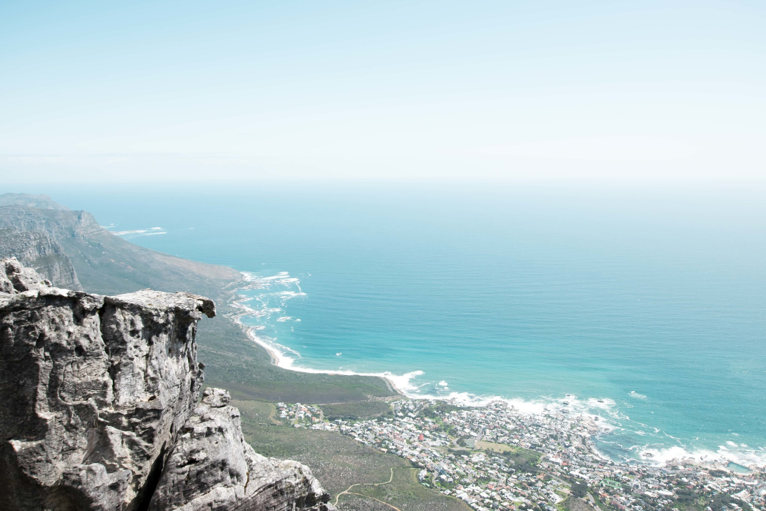 The views from Table Mountain make it one of the top places to go in Cape Town.
