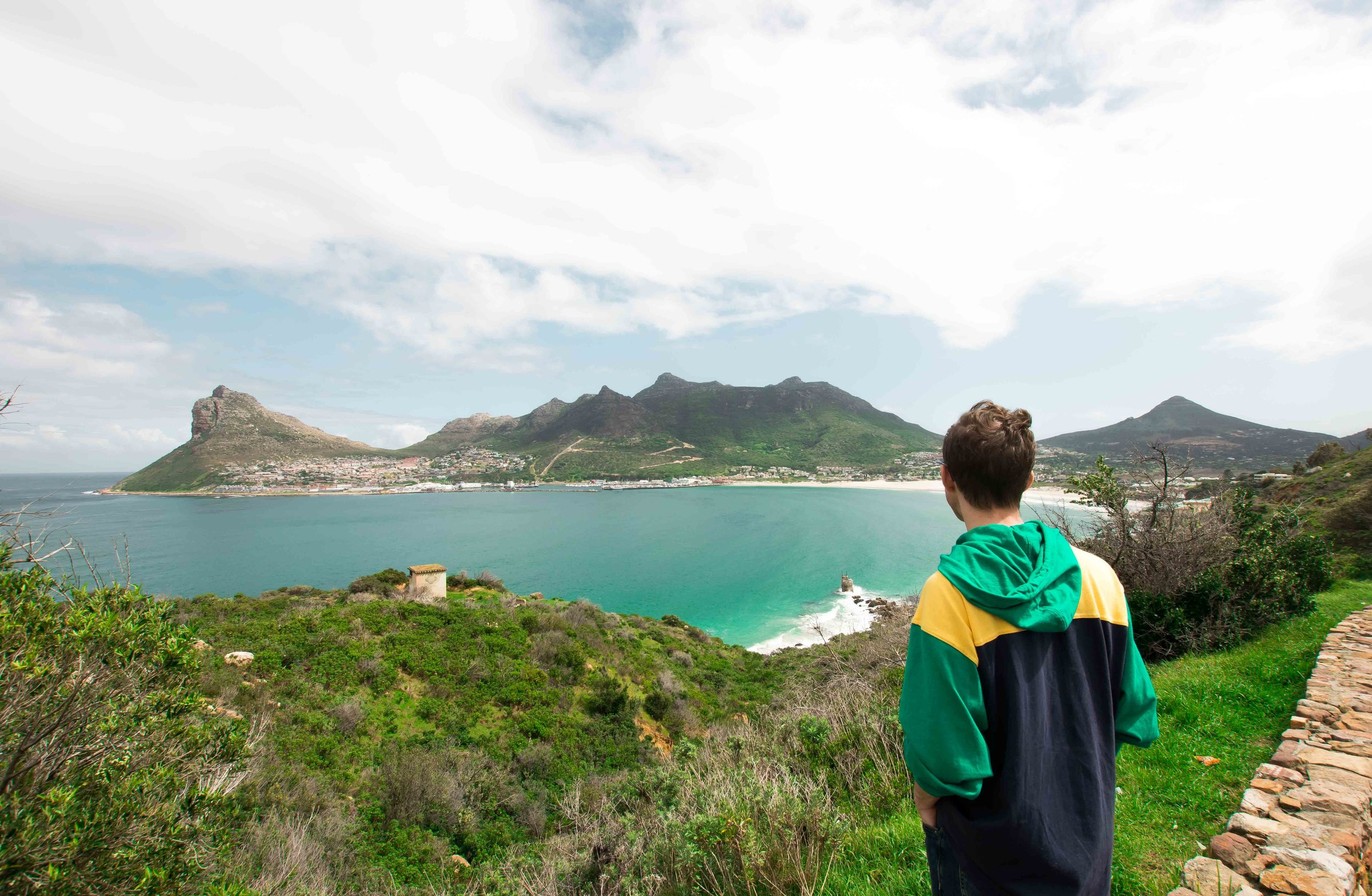 Don't leave Cape Town without driving the peninsula and stopping at Chapmans Peak.