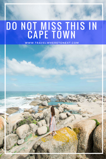 While visiting Cape Town you can not miss these epic activities and tours