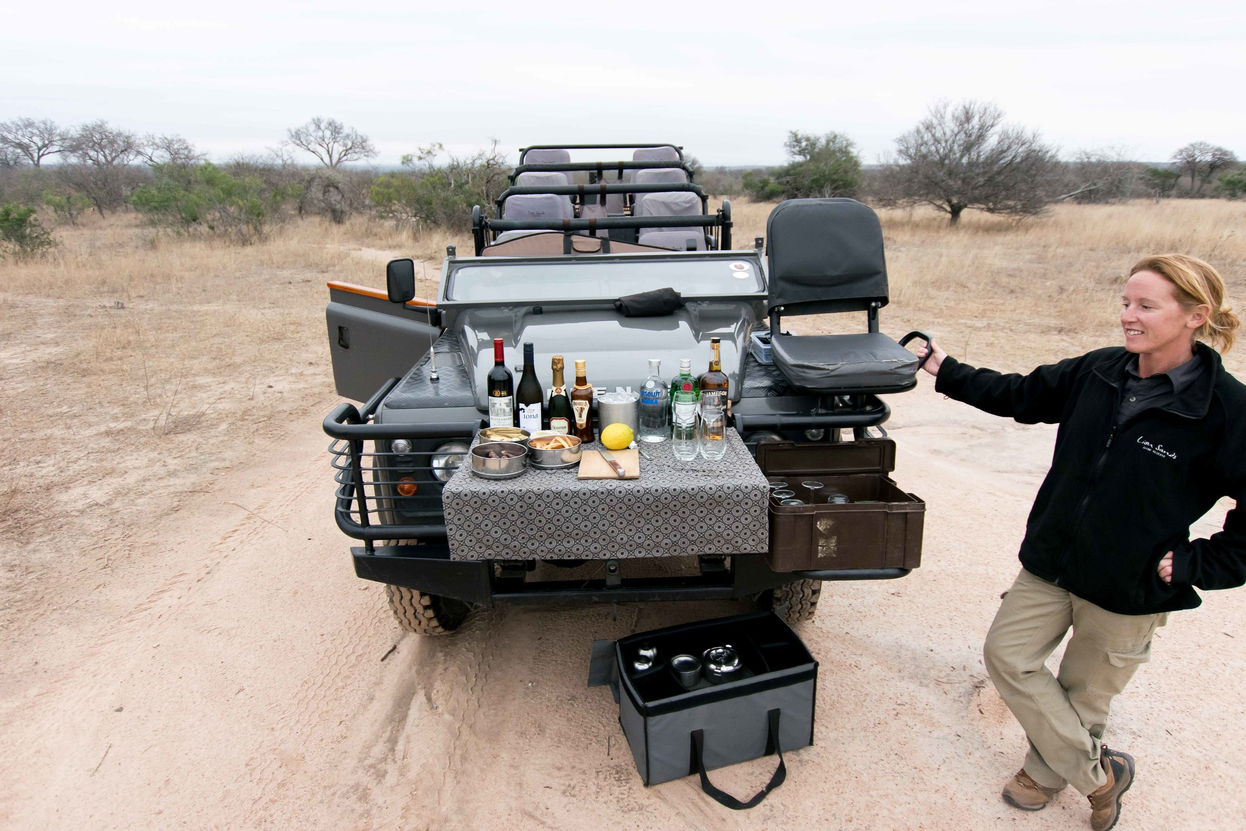 What game drives are like at luxury safari lodges