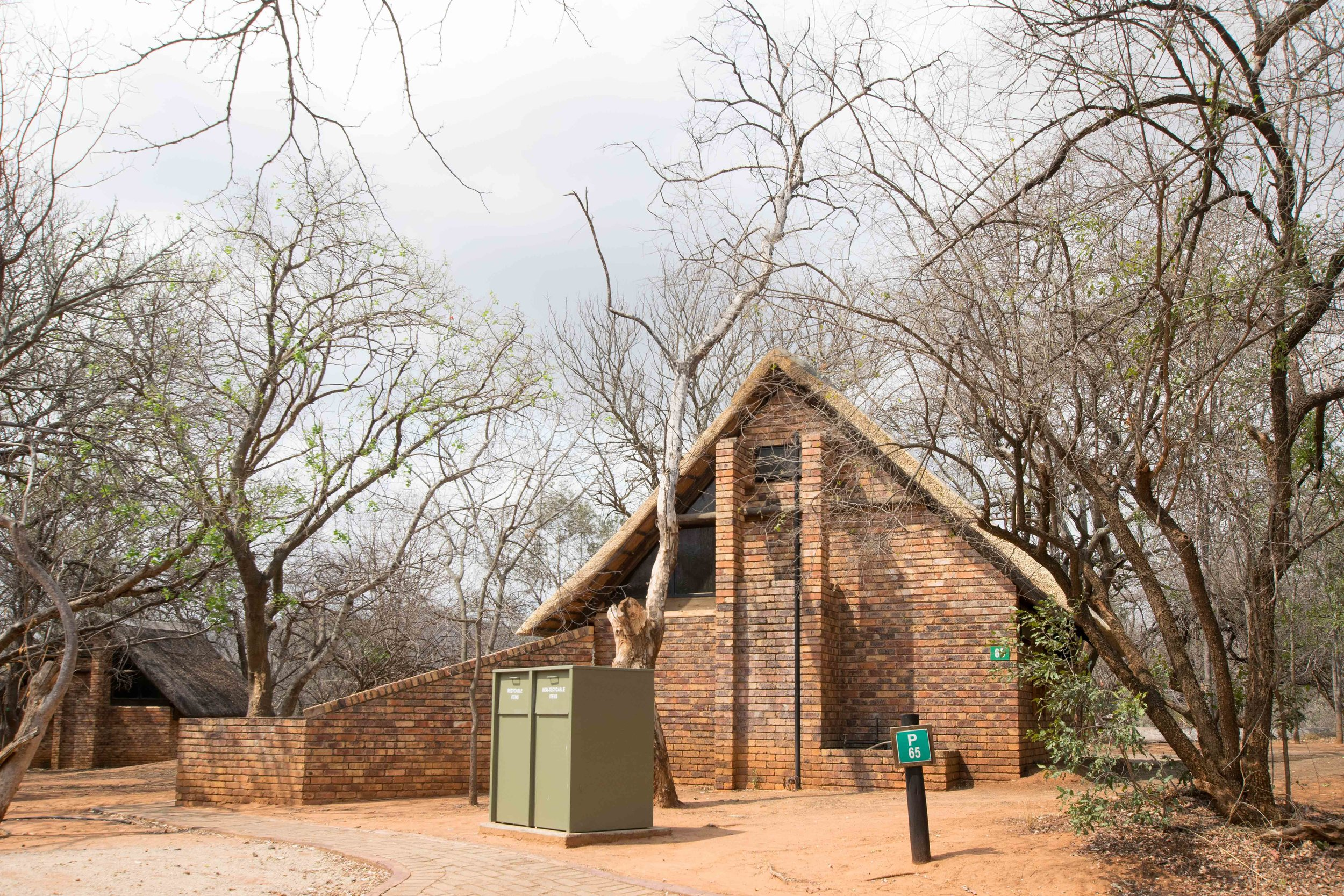 One of the campgrounds in Kruger National Park