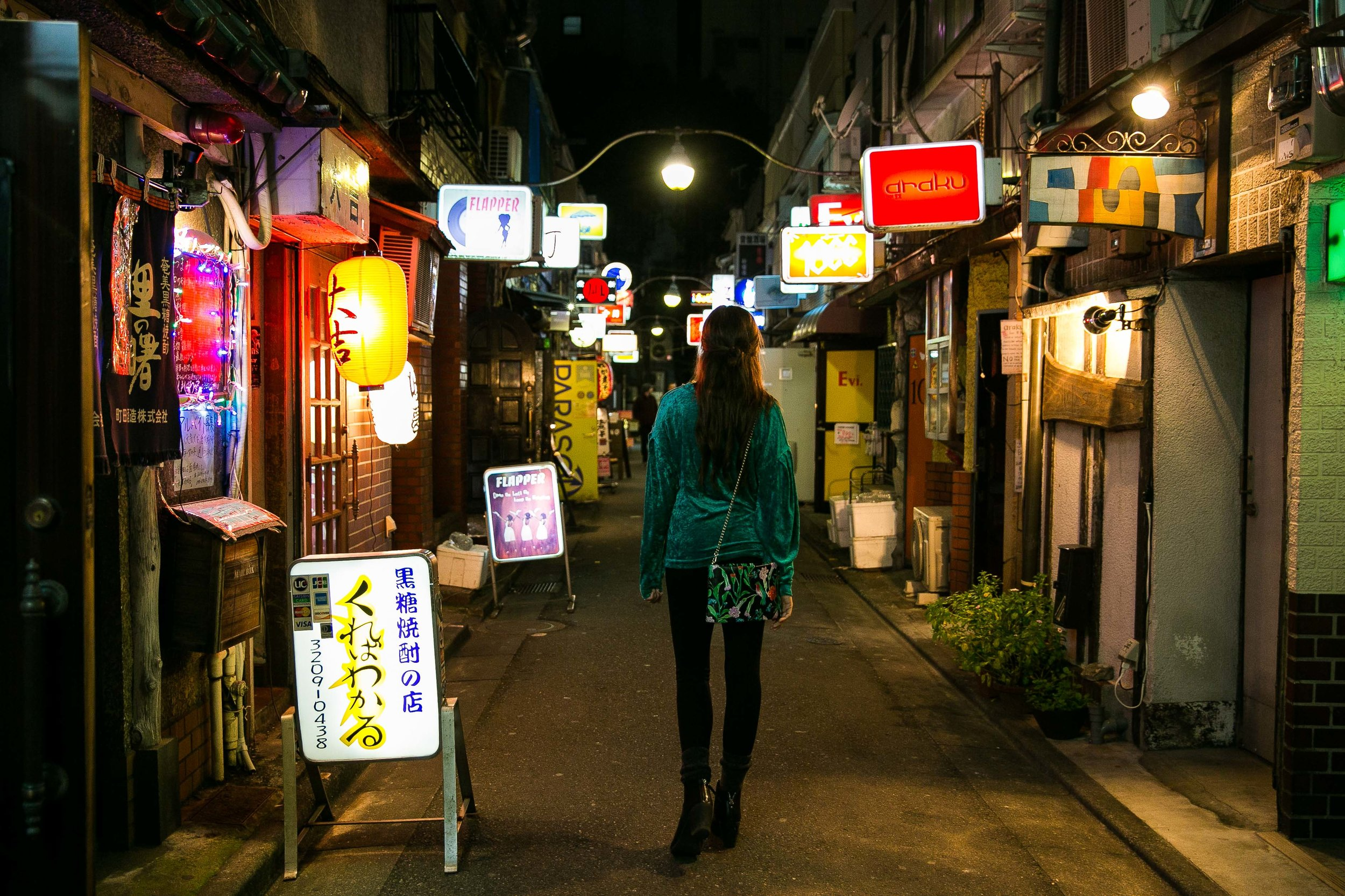 One of the best things to do in Tokyo is visit Golden Gai