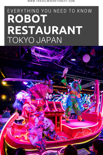 Heading to Japan soon? If you are going to Tokyo make sure you check out Robot Restaurant! It is a must do in Tokyo and one of the top tourist attractions. Find out how to get there and how to get discount tickets for Robot Restaurant!