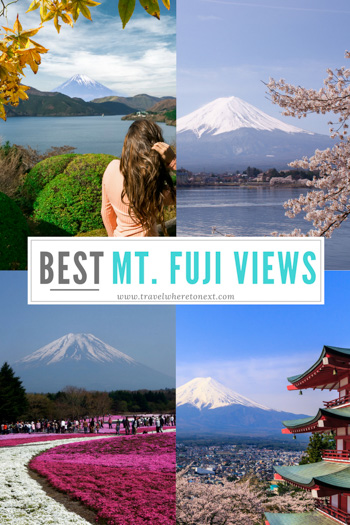 There is no one true answer to finding the best view of Mt. Fuji. Here are all the most popular views o you can choose yourself!!