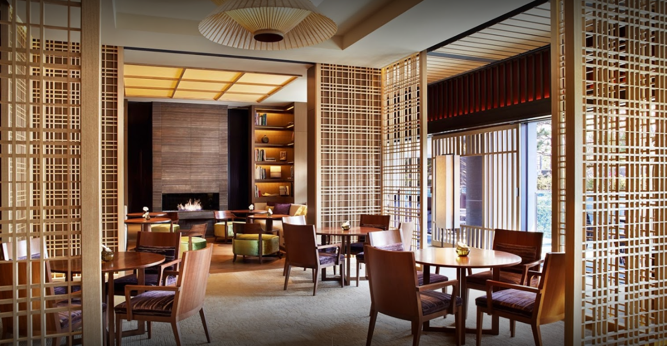 Ritz-Carlton Kyoto - If you want a luxury stay, I highly recommend the Ritz Carlton Kyoto. It is brand new and stunning is an understatement.