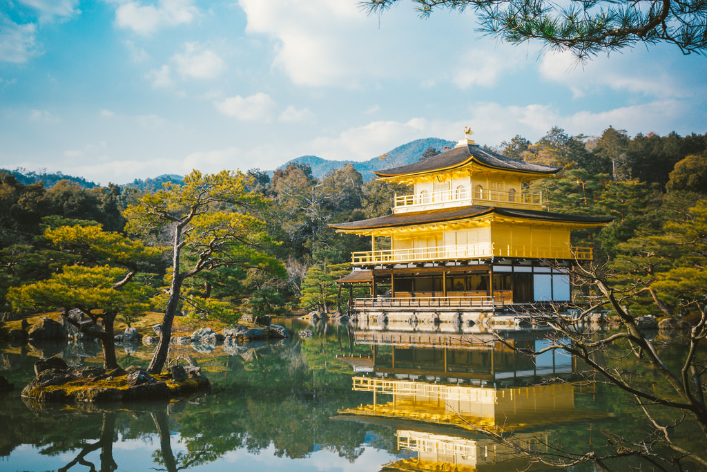 One of the top things you can not miss in Kyoto is Kinkaku-Ji