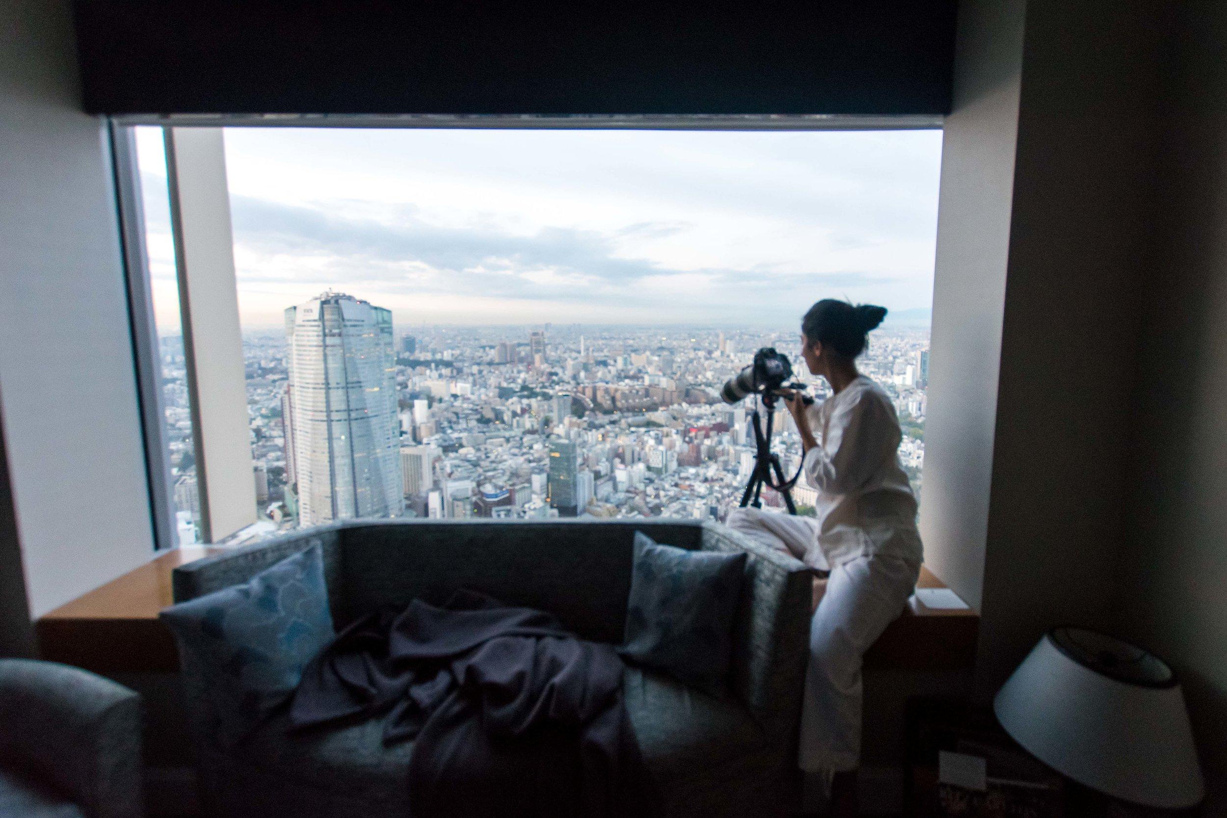 Can't get enough of this view at Ritz-Carlton Tokyo!