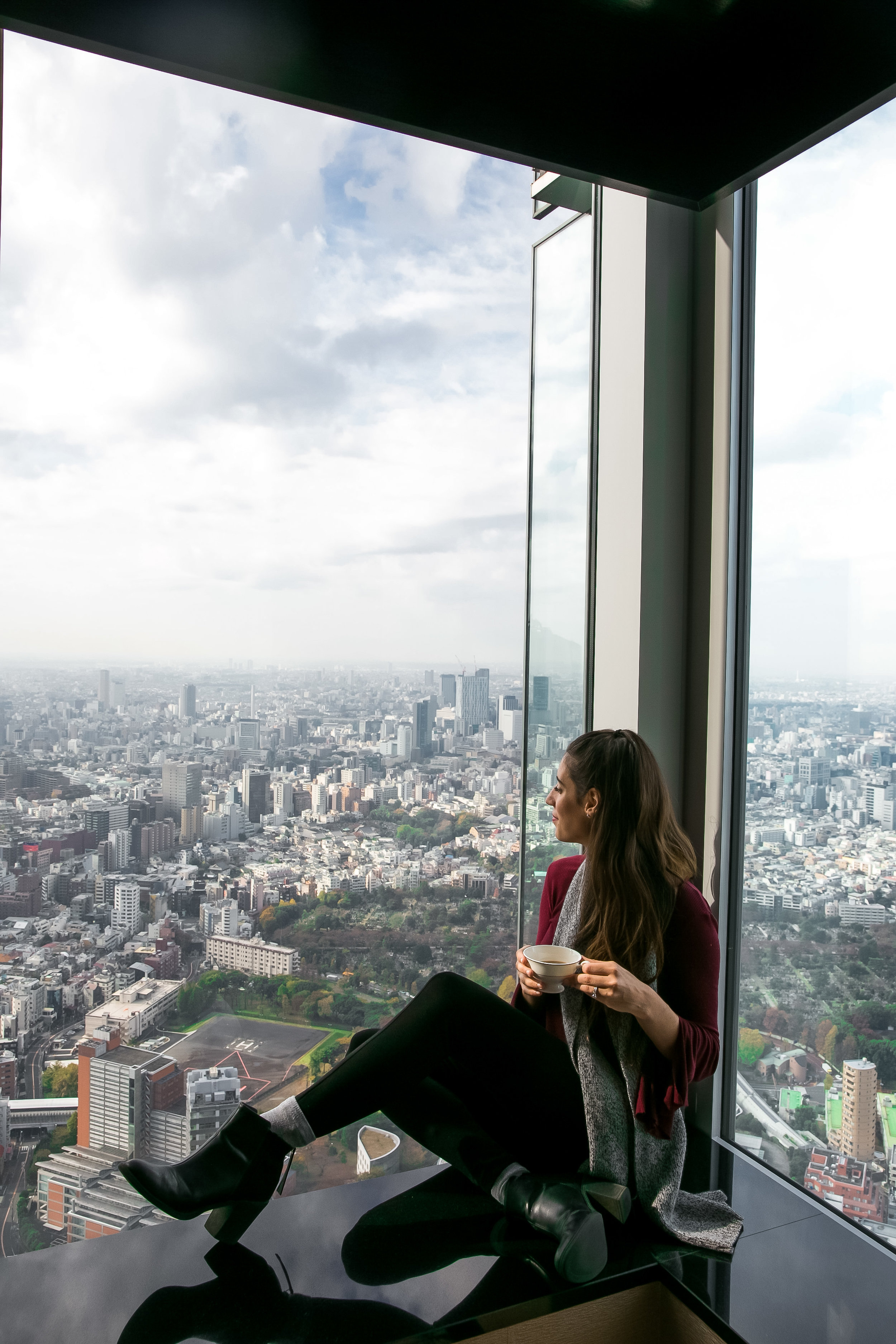Amazing views at The Ritz-Carlton Tokyo