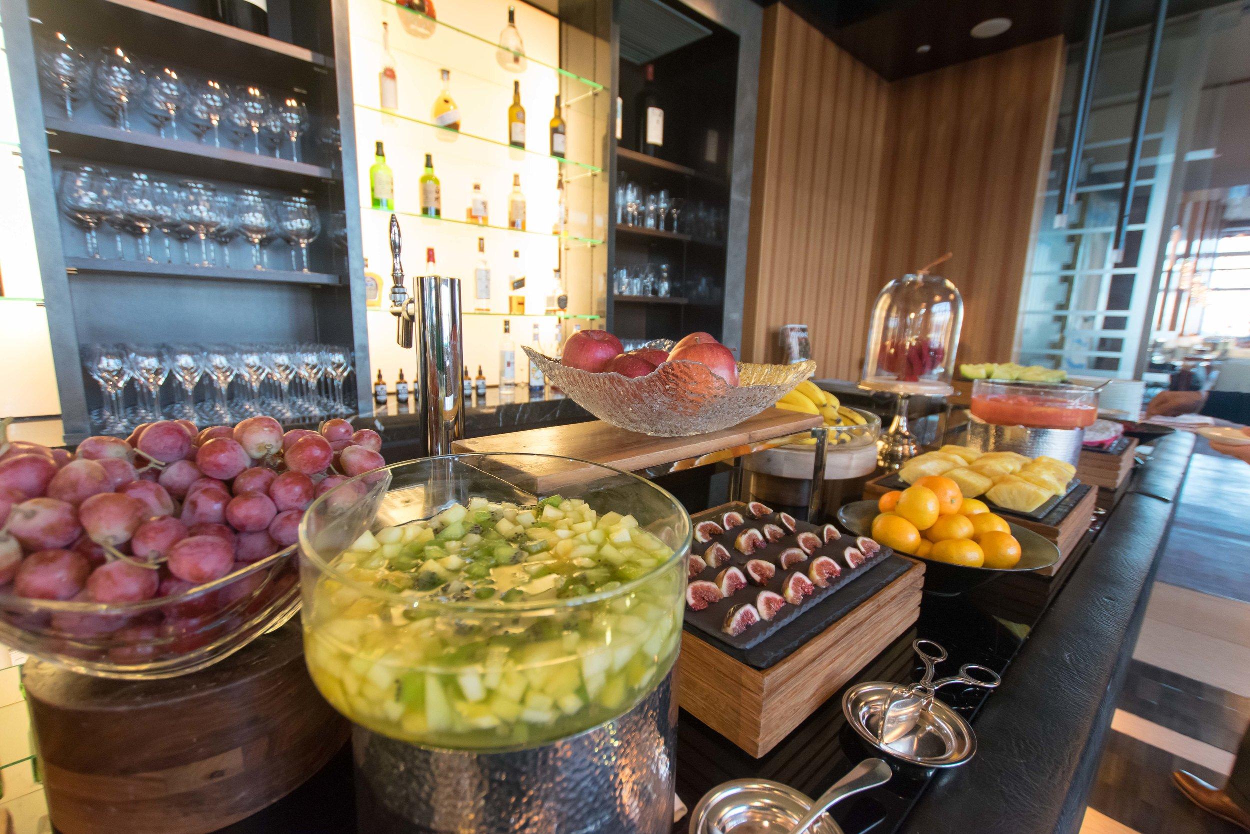Breakfast buffet at The Ritz-Carlton Tokyo