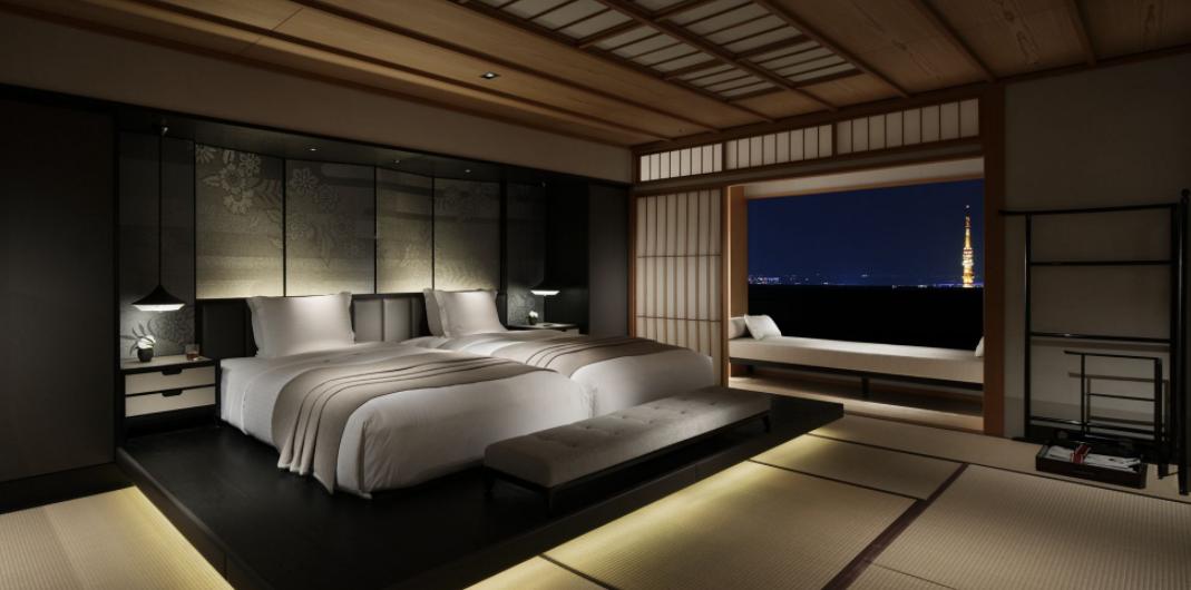 Traditional Japanese room at The Ritz-Carlton Tokyo