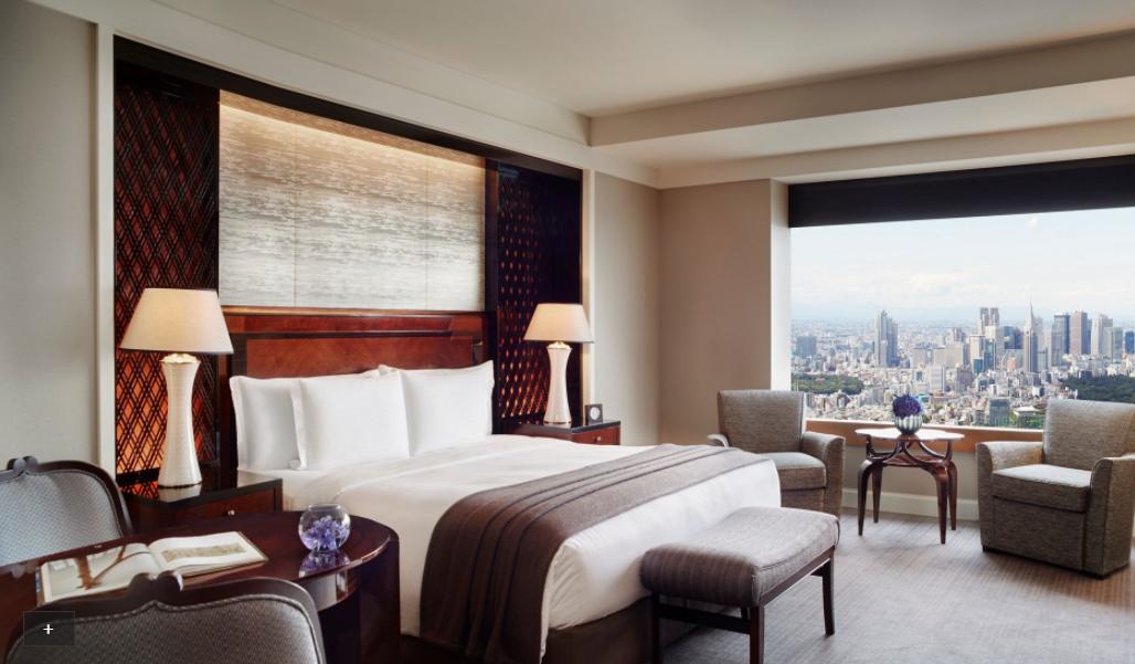 Room at The Ritz-Carlton Tokyo
