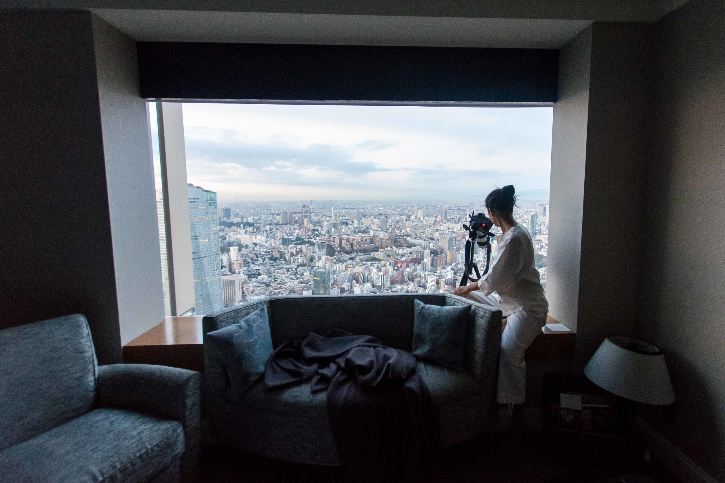 Our room at The Ritz-Carlton Tokyo