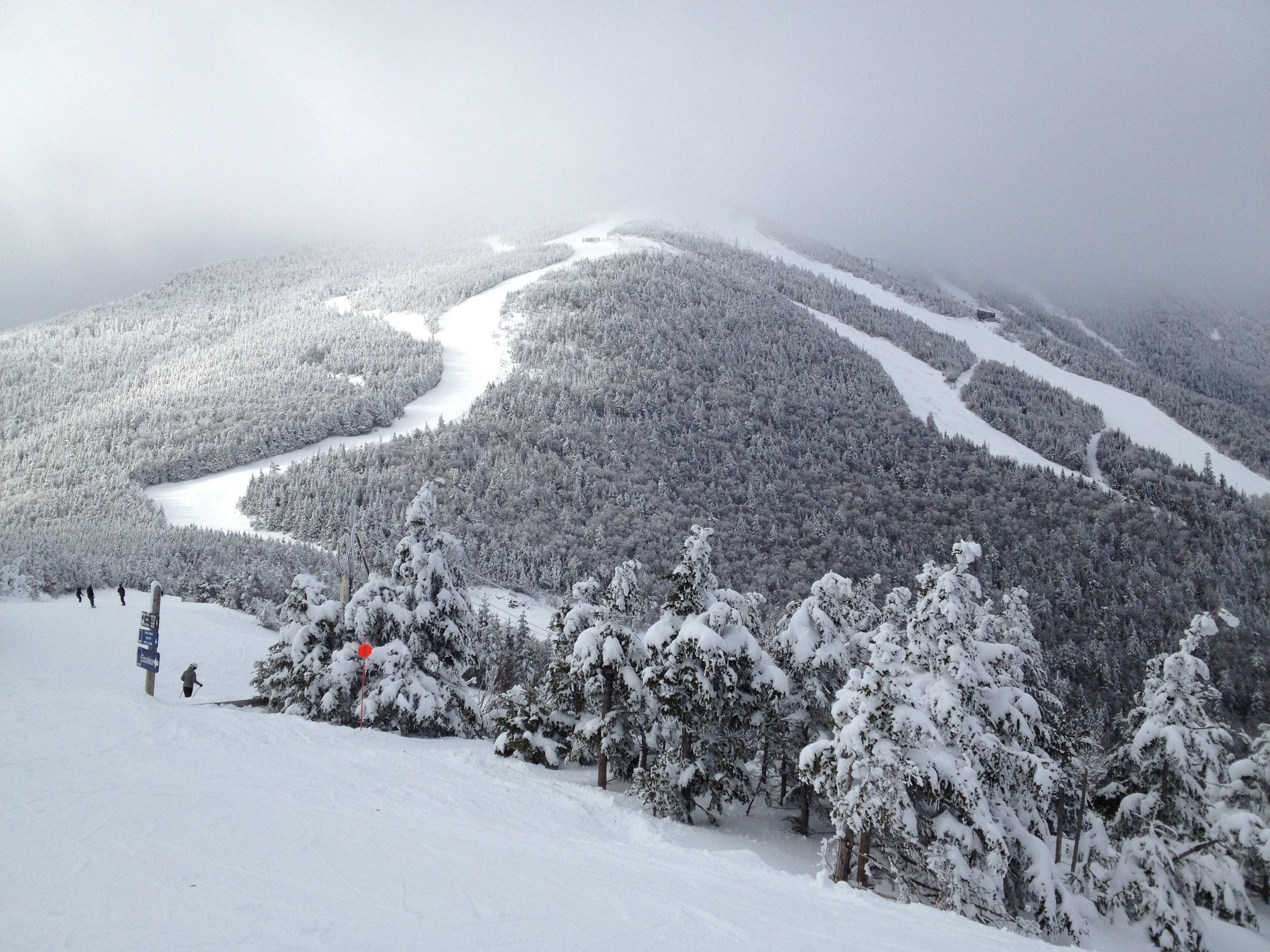 Definitely try downhill skiing at Whiteface mountain - one of the best mountain to ski at in New York!