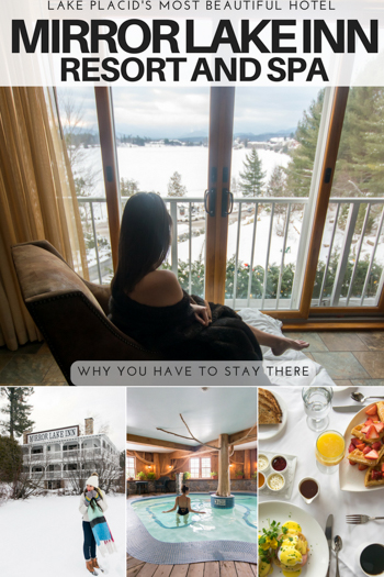 Heading to Upstate NY? Make sure you check out Mirror Lake Inn, one of the best hotels to stay in Lake Placid and one of the best hotels in the Adirondacks.