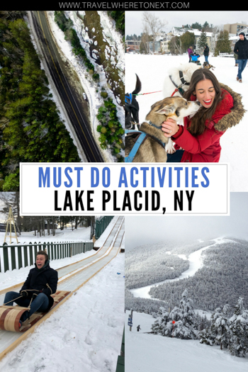 Heading up to Lake Placid? Make sure you don't miss out on all the fun things to do in this wonderful city in Upstate NY.