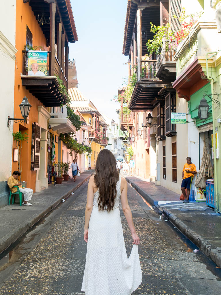 One of the best things to do in Cartagena is walk around and take in the old city.