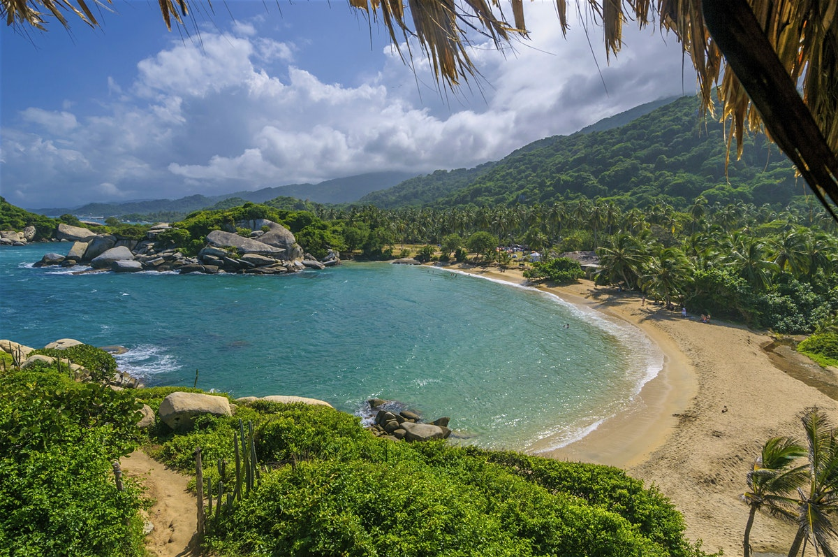 One of the best things to do in Cartagena is take a trip to Tayrona National Park.