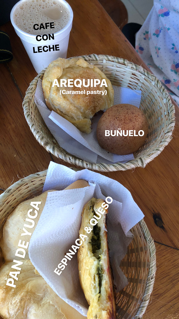Eat as much as you can while in Colombia