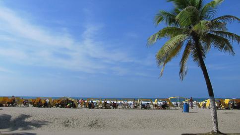 Bocagrande Beach