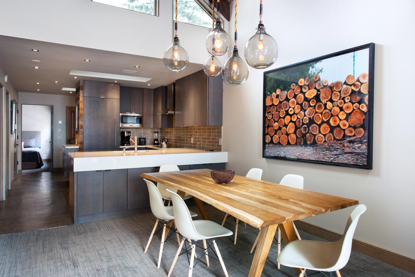Living Room at The Gant Aspen