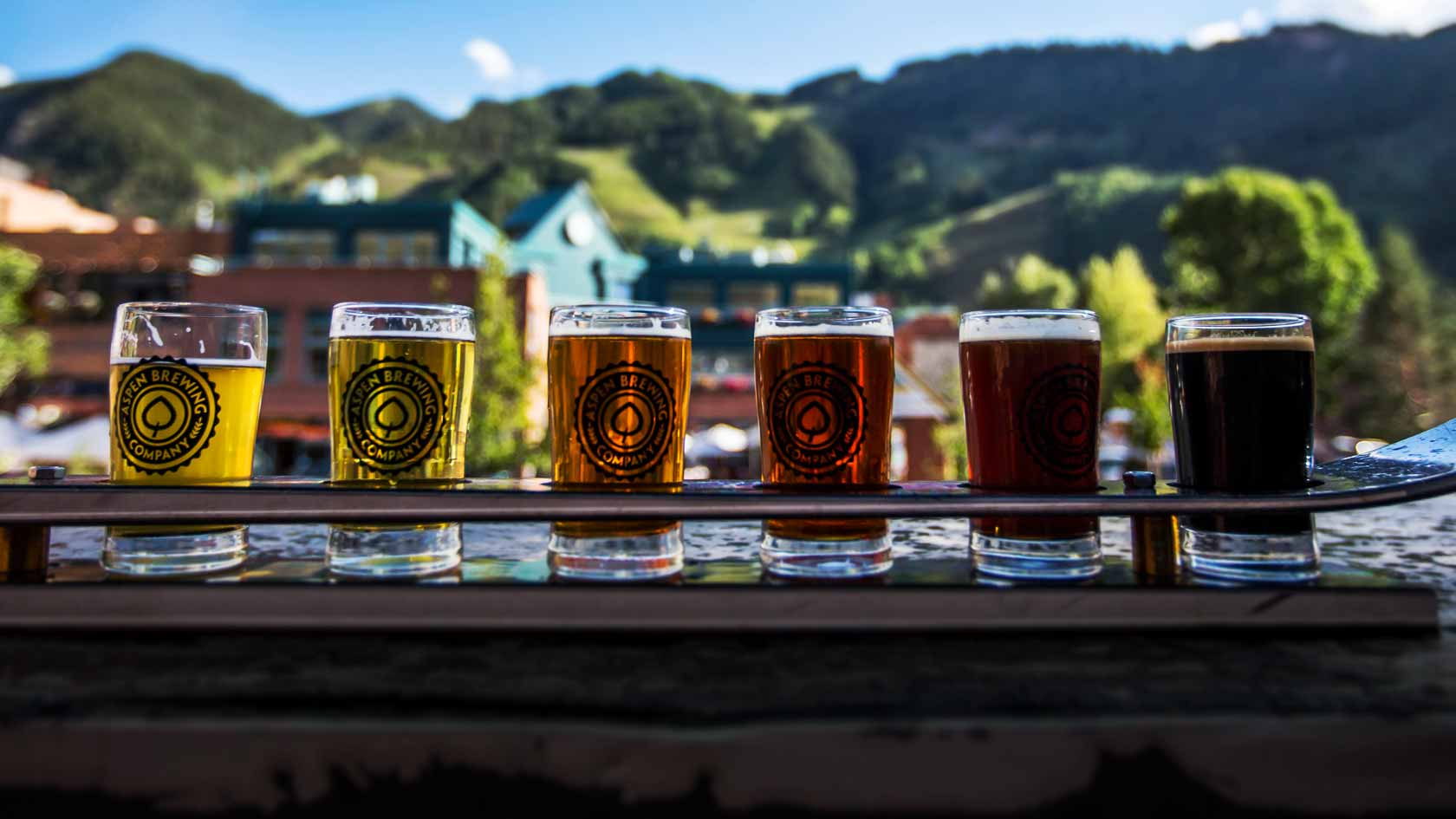 Drinking local beers while in Aspen is a must do!