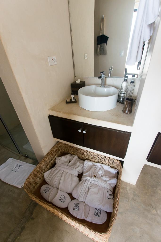 The Bathroom at Tata Tulum