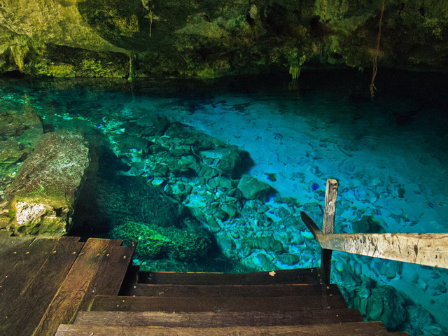 Dos Ojos Cenote